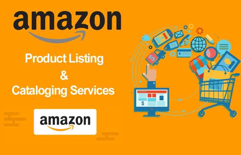 amazon product listing cataloging services